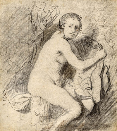Diana at the Bath Rembrandt