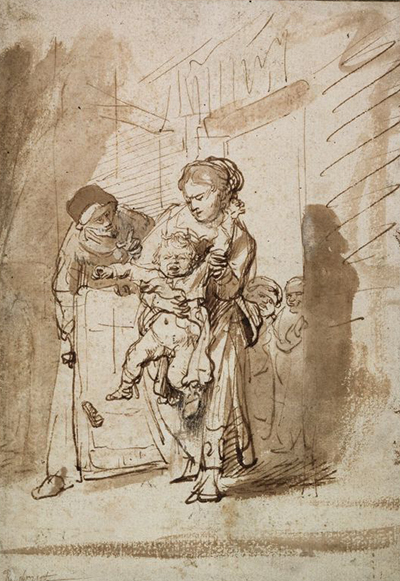 The Naughty Child Rembrandt